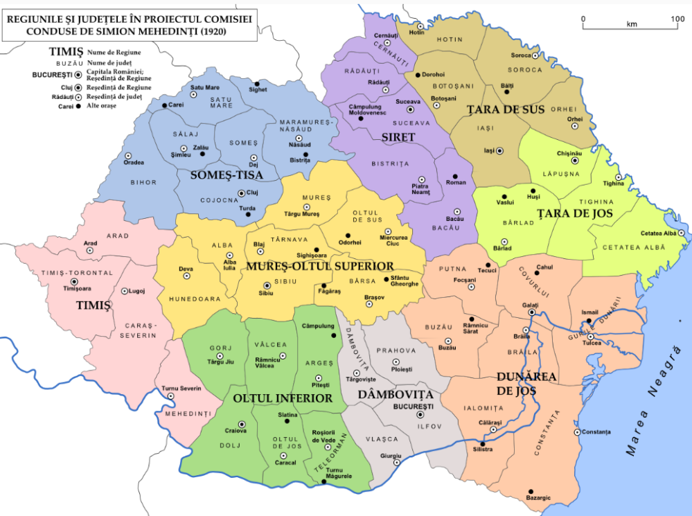 Istoria Administrativ-Teritorială a României...