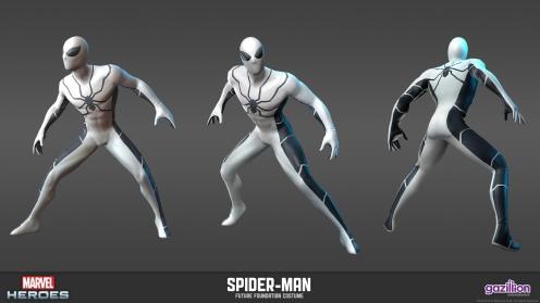 Costumul Omului Păianjen (Fundația Viitorului)