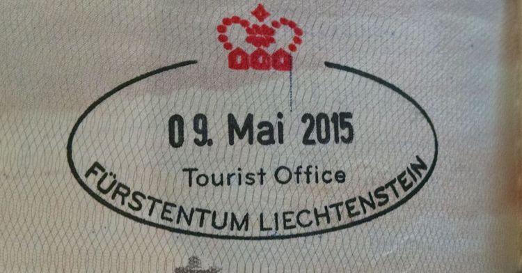 Ștampilă din statul Liechtenstein